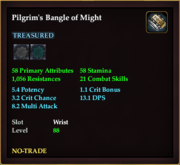 Pilgrim's Bangle of Might