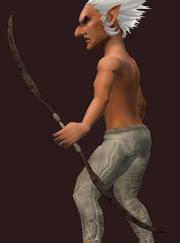 Prexus Defender's Longbow (Equipped)