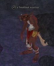 A Sootfoot warrior