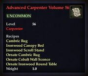 Advanced Carpenter Volume 56