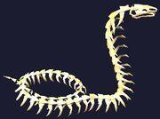 Skeletal Cobra Plushie (Visible)