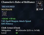 Channeler's Robe of Brilliance