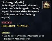 Drolvarg (Mystic)