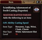 Scintillating Adornment of Swift Casting (Superior)