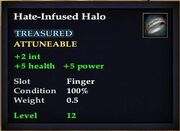 Hate-Infused Halo