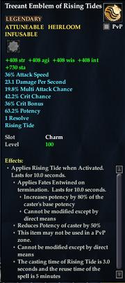 Treeant Emblem of Rising Tides