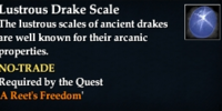 Lustrous Drake Scale