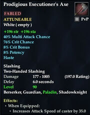 Prodigious Executioner's Axe