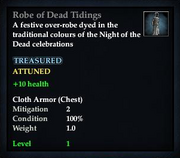 Robe of Dead Tidings