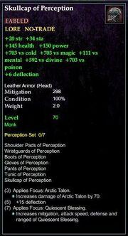 Skullcap of Perception