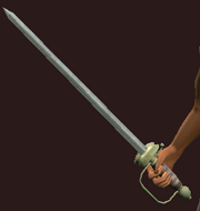 Windcaller's Sword (Equipped)