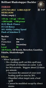 Brilliant Bladestopper Buckler