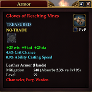 Gloves of Reaching Vines