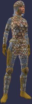 Rustic brigandine (Armor Set) (Visible, Female)