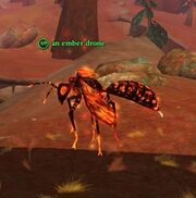 An ember drone