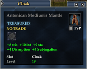 Antonican Medium's Mantle