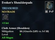 Evoker's Shoulderpads