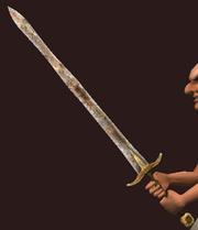 Iron Great Sword (Equipped)
