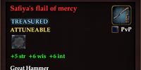 Safiya's flail of mercy