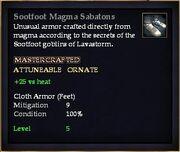 Sootfoot Magma Sabatons