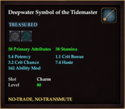 Deepwater Symbol of the Tidemaster