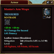 Mentor's Arm Wraps
