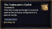 The Taskmaster's Gullet