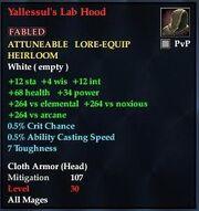 Yallessul's Lab Hood