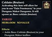 Coldain (Bruiser)