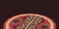 Large Circular High Keep Rug