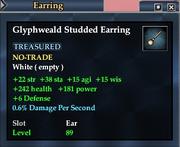 Glyphweald Studded Earring
