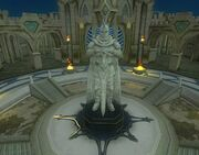 Guild hall amenity - resolution statue