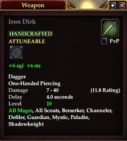 Iron Dirk