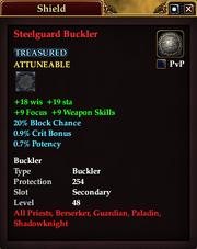 Steelguard Buckler