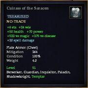Cuirass of the Saracen