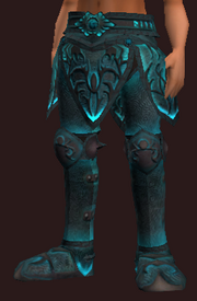 Frostwind Champion's Greaves (Equipped)
