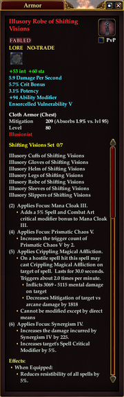 Illusory Robe of Shifting Visions