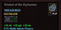 Trinket of the Fayhunter