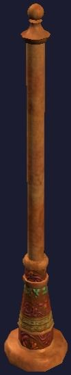 Wooden pole (Visible)