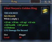 Chief Nuryen's Golden Ring