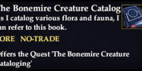 The Bonemire Creature Catalog