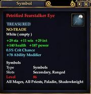 Petrified Fearstalker Eye