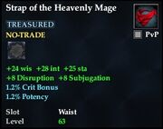 Strap of the Heavenly Mage