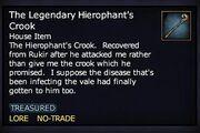 The Legendary Hierophant's Crook