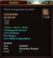Thick Scrapmetal Symbol