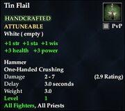 Tin Flail