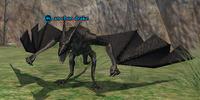 An ebon drake