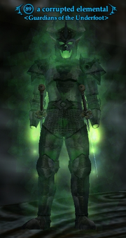 A corrupted elemental