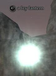 A ley lantern