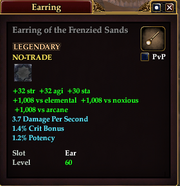 Earring of the Frenzied Sands